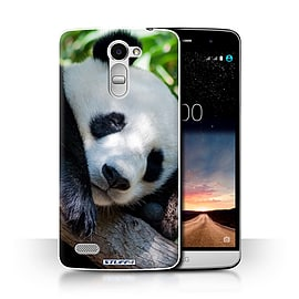 STUFF4 Phone Case/Cover for LG Ray/X190/Panda Bear Design/Wildlife Animals Collection Mobile phones