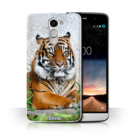STUFF4 Phone Case/Cover for LG Ray/X190/Tiger Design/Wildlife Animals Collection Mobile phones