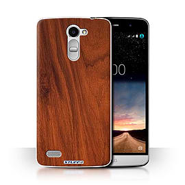 STUFF4 Phone Case/Cover for LG Ray/X190/Mahogany Design/Wood Grain Effect/Pattern Collection Mobile phones