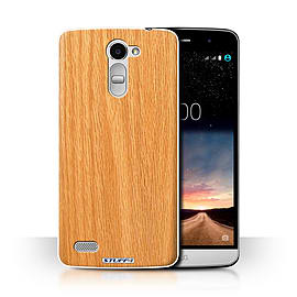 STUFF4 Phone Case/Cover for LG Ray/X190/Pine Design/Wood Grain Effect/Pattern Collection Mobile phones