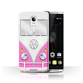 STUFF4 Phone Case/Cover for Lenovo Vibe X3/Pink Design/VW Camper Van Collection Mobile phones