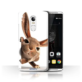 STUFF4 Phone Case/Cover for Lenovo Vibe X3/Peeking Bunny Design/Funny Animals Collection Mobile phones