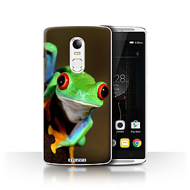 STUFF4 Phone Case/Cover for Lenovo Vibe X3/Frog Design/Wildlife Animals Collection Mobile phones