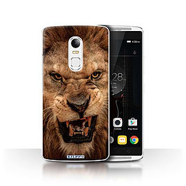 STUFF4 Phone Case/Cover for Lenovo Vibe X3/Lion Design/Wildlife Animals Collection Mobile phones