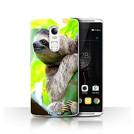 STUFF4 Phone Case/Cover for Lenovo Vibe X3/Sloth Design/Wildlife Animals Collection Mobile phones