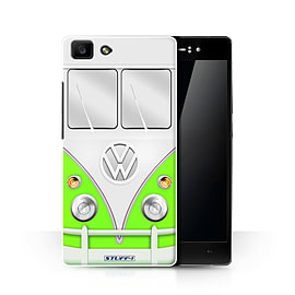 STUFF4 Phone Case/Cover for Oppo R5/Green Design/VW Camper Van Collection Mobile phones