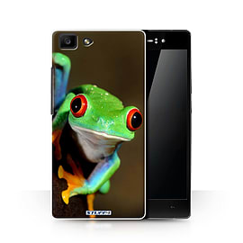 STUFF4 Phone Case/Cover for Oppo R5/Frog Design/Wildlife Animals Collection Mobile phones