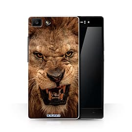 STUFF4 Phone Case/Cover for Oppo R5/Lion Design/Wildlife Animals Collection Mobile phones