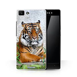 STUFF4 Phone Case/Cover for Oppo R5/Tiger Design/Wildlife Animals Collection Mobile phones