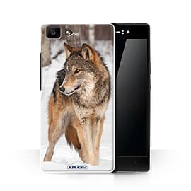 STUFF4 Phone Case/Cover for Oppo R5/Wolf Design/Wildlife Animals Collection Mobile phones