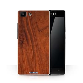 STUFF4 Phone Case/Cover for Oppo R5/Mahogany Design/Wood Grain Effect/Pattern Collection Mobile phones