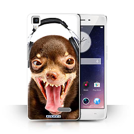 STUFF4 Phone Case/Cover for Oppo R7/Ridiculous Dog Design/Funny Animals Collection Mobile phones