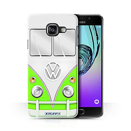 STUFF4 Phone Case/Cover for Samsung Galaxy A3 (2016)/Green Design/VW Camper Van Collection Mobile phones