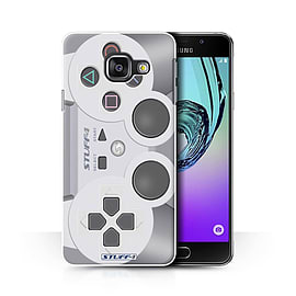 STUFF4 Phone Case/Cover for Samsung Galaxy A3 (2016)/Playstation PS1 Design/Games Console Collection Mobile phones
