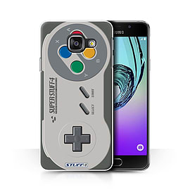 STUFF4 Phone Case/Cover for Samsung Galaxy A3 (2016)/Super Nintendo Design/Games Console Collection Mobile phones