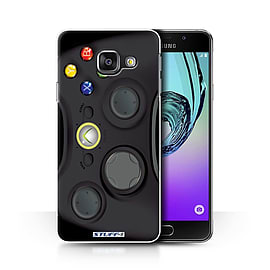 STUFF4 Phone Case/Cover for Samsung Galaxy A3 (2016)/Black Xbox 360 Design/Games Console Collection Mobile phones