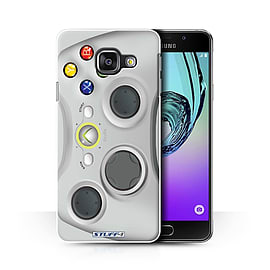 STUFF4 Phone Case/Cover for Samsung Galaxy A3 (2016)/White Xbox 360 Design/Games Console Collection Mobile phones