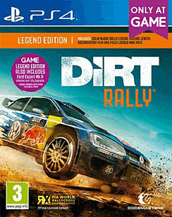 DiRT Rally Legend Edition - Only At GAME PlayStation 4 Cover Art