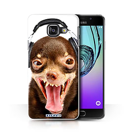 STUFF4 Phone Case/Cover for Samsung Galaxy A3 (2016)/Ridiculous Dog Design/Funny Animals Collection Mobile phones