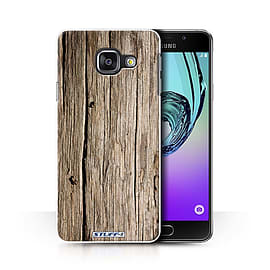 STUFF4 Phone Case/Cover for Samsung Galaxy A3 (2016)/Driftwood/Wood Grain Effect/Pattern Collection Mobile phones