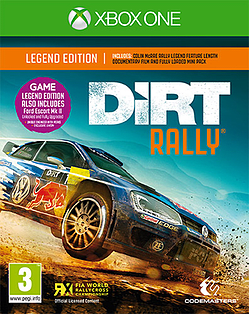 DiRT Rally Legend Edition Xbox One Cover Art