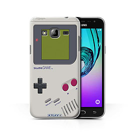 STUFF4 Phone Case/Cover for Samsung Galaxy J3/Nintendo Game Boy Design/Games Console Collection Mobile phones