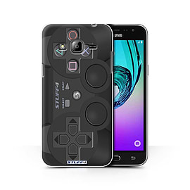 STUFF4 Phone Case/Cover for Samsung Galaxy J3/Playstation PS3 Design/Games Console Collection Mobile phones