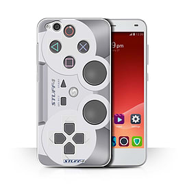 STUFF4 Phone Case/Cover for ZTE Blade S6/Playstation PS1 Design/Games Console Collection Mobile phones