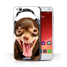 STUFF4 Phone Case/Cover for ZTE Blade S6/Ridiculous Dog Design/Funny Animals Collection Mobile phones
