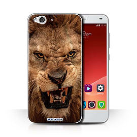 STUFF4 Phone Case/Cover for ZTE Blade S6/Lion Design/Wildlife Animals Collection Mobile phones
