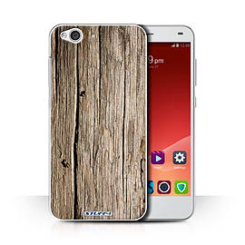 STUFF4 Phone Case/Cover for ZTE Blade S6/Driftwood Design/Wood Grain Effect/Pattern Collection Mobile phones