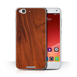 STUFF4 Phone Case/Cover for ZTE Blade S6/Mahogany Design/Wood Grain Effect/Pattern Collection Mobile phones