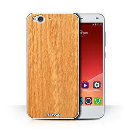 STUFF4 Phone Case/Cover for ZTE Blade S6/Pine Design/Wood Grain Effect/Pattern Collection Mobile phones