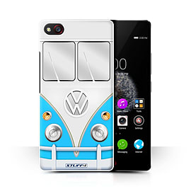 STUFF4 Phone Case/Cover for ZTE Nubia Z9 Mini/Blue Design/VW Camper Van Collection Mobile phones