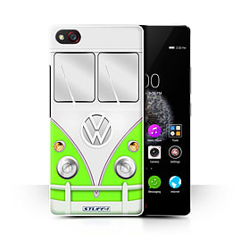 STUFF4 Phone Case/Cover for ZTE Nubia Z9 Mini/Green Design/VW Camper Van Collection Mobile phones