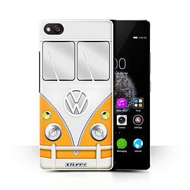STUFF4 Phone Case/Cover for ZTE Nubia Z9 Mini/Orange Design/VW Camper Van Collection Mobile phones