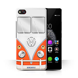STUFF4 Phone Case/Cover for ZTE Nubia Z9 Mini/Red Design/VW Camper Van Collection Mobile phones