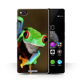 STUFF4 Phone Case/Cover for ZTE Nubia Z9 Mini/Frog Design/Wildlife Animals Collection Mobile phones