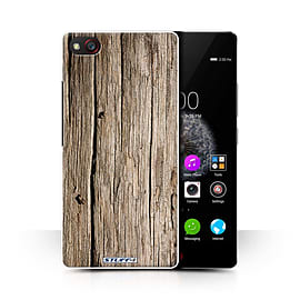 STUFF4 Phone Case/Cover for ZTE Nubia Z9 Mini/Driftwood Design/Wood Grain Effect/Pattern Collection Mobile phones