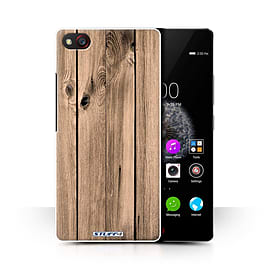 STUFF4 Phone Case/Cover for ZTE Nubia Z9 Mini/Plank Design/Wood Grain Effect/Pattern Collection Mobile phones