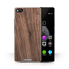 STUFF4 Phone Case/Cover for ZTE Nubia Z9 Mini/Walnut Design/Wood Grain Effect/Pattern Collection Mobile phones