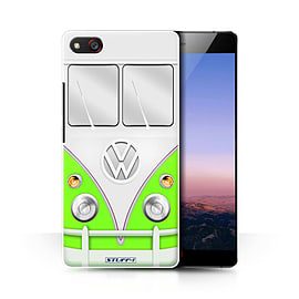 STUFF4 Phone Case/Cover for ZTE Nubia Z9 Max/Green Design/VW Camper Van Collection Mobile phones
