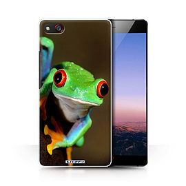 STUFF4 Phone Case/Cover for ZTE Nubia Z9 Max/Frog Design/Wildlife Animals Collection Mobile phones