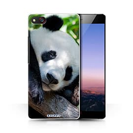 STUFF4 Phone Case/Cover for ZTE Nubia Z9 Max/Panda Bear Design/Wildlife Animals Collection Mobile phones