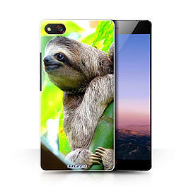STUFF4 Phone Case/Cover for ZTE Nubia Z9 Max/Sloth Design/Wildlife Animals Collection Mobile phones