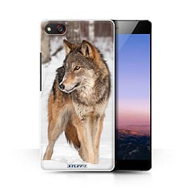 STUFF4 Phone Case/Cover for ZTE Nubia Z9 Max/Wolf Design/Wildlife Animals Collection Mobile phones