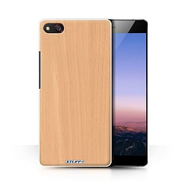 STUFF4 Phone Case/Cover for ZTE Nubia Z9 Max/Beech Design/Wood Grain Effect/Pattern Collection Mobile phones