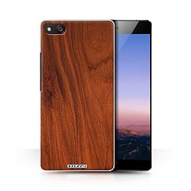 STUFF4 Phone Case/Cover for ZTE Nubia Z9 Max/Mahogany Design/Wood Grain Effect/Pattern Collection Mobile phones