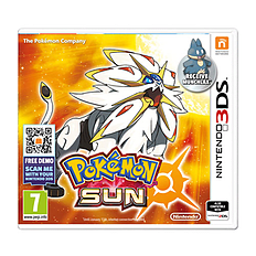 Pokémon Sun 3DS Cover Art