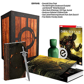 Dark Souls 3 Estus Flask Collector's Edition Guide Books